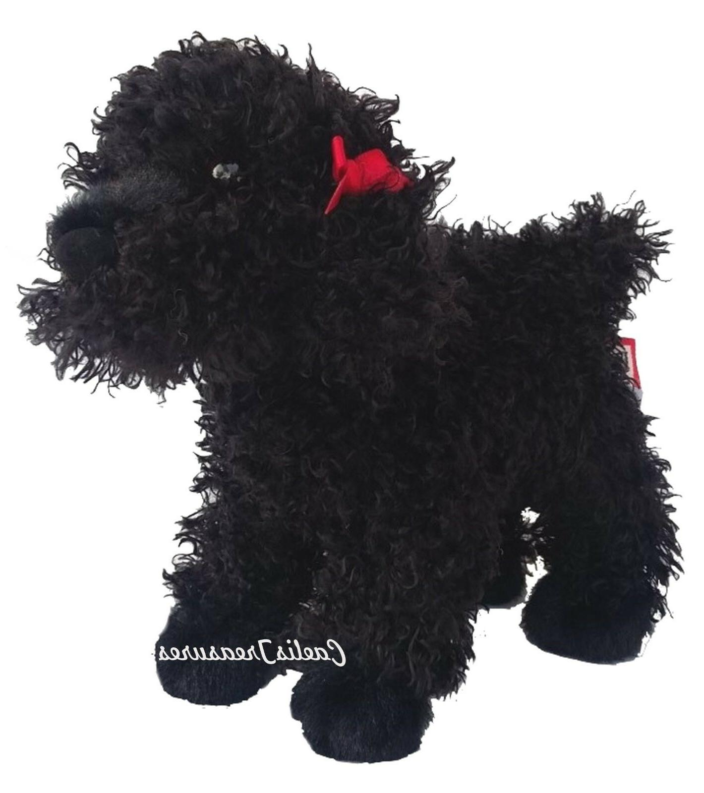 "Douglas BLACK 8"" Plush Dog Stuffed"
