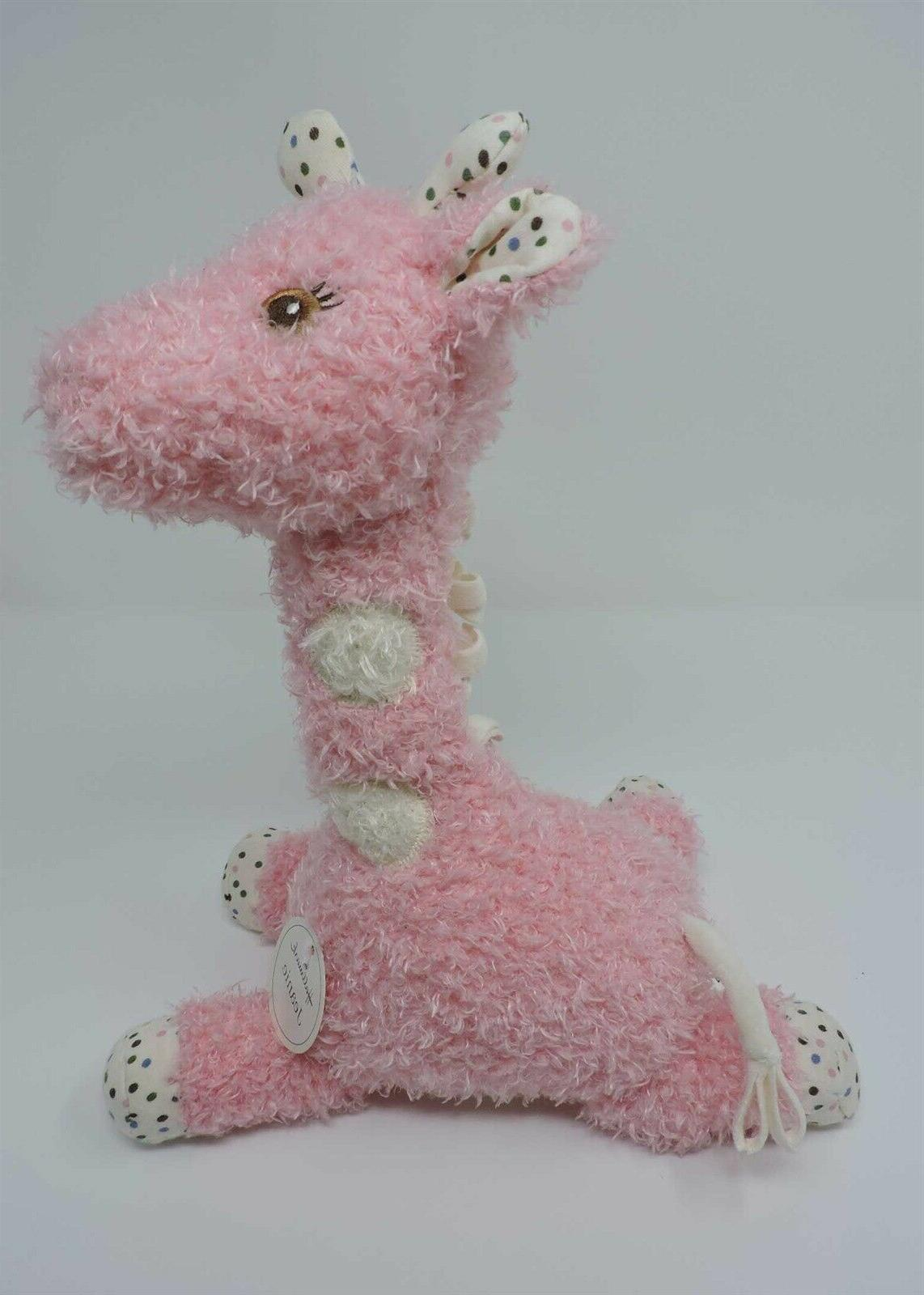 Hallmark Plush Pink Polka Soft Eyes
