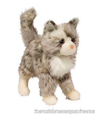 """GIZMO TAN 9"""" by Douglas Toy stuffed soft PLUSH brown tip"""