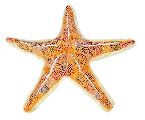 glitter starfish plush stuffed toy
