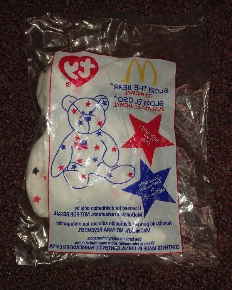 glory the bear beanie baby mcdonalds limited