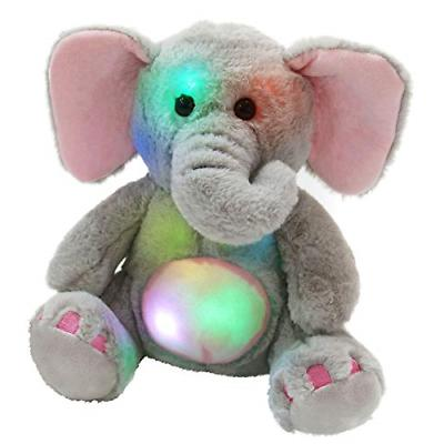 glow elephant stuffed animals cozy soft plush