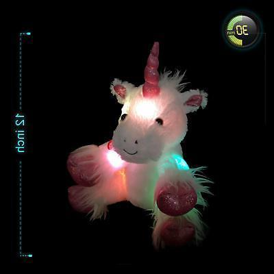 Glow Unicorn LED Stuffed Animal