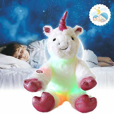 Glow Unicorn Stuffed Animal Ultra Plush Gift Toy