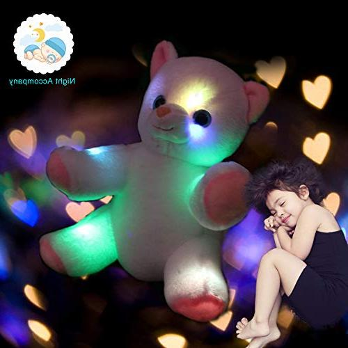 WEWILL Glow Animals LED Kitty Up Colorful Flash Lights, Gift for Kids