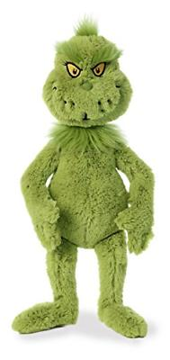 Grinch Plush Stuffed Animal Green Aurora World 18 The Grinch
