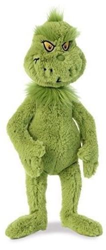 """Grinch Stuffed , Green 18"""" Grinch"""
