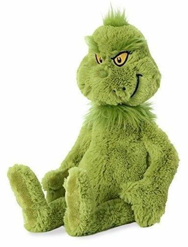 grinch plush stuffed animal green world 18