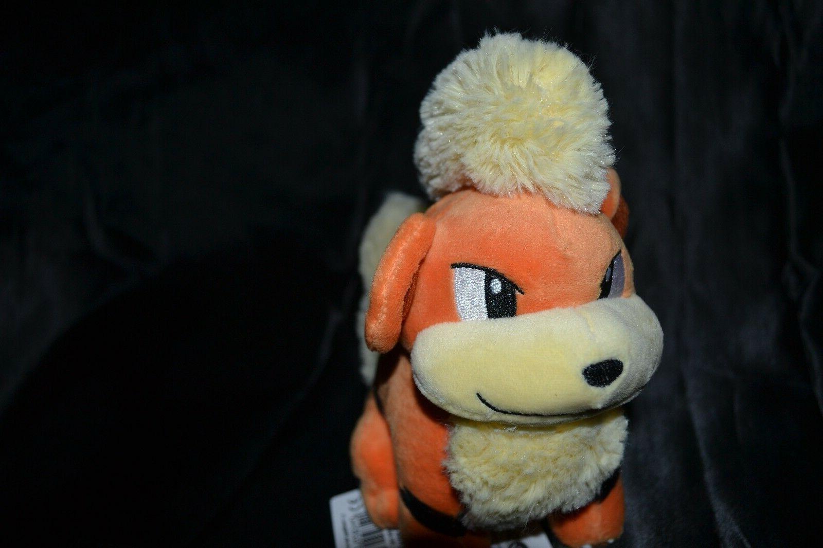 "7"" 58 Official Pokemon Dolls Stuffed Animals 2016"