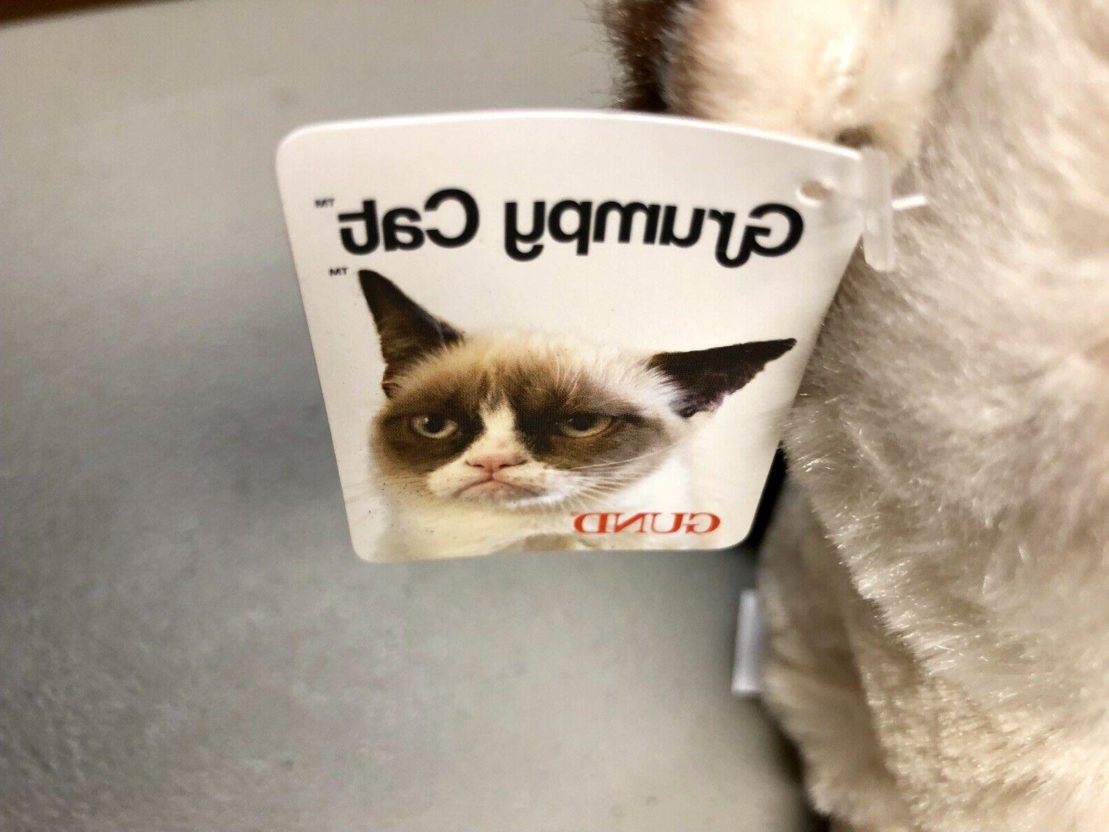 Gund Grumpy Cat Plush New