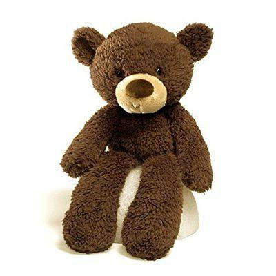 "Gund Fuzzy Chocolate 13.5"" Bear Plush"