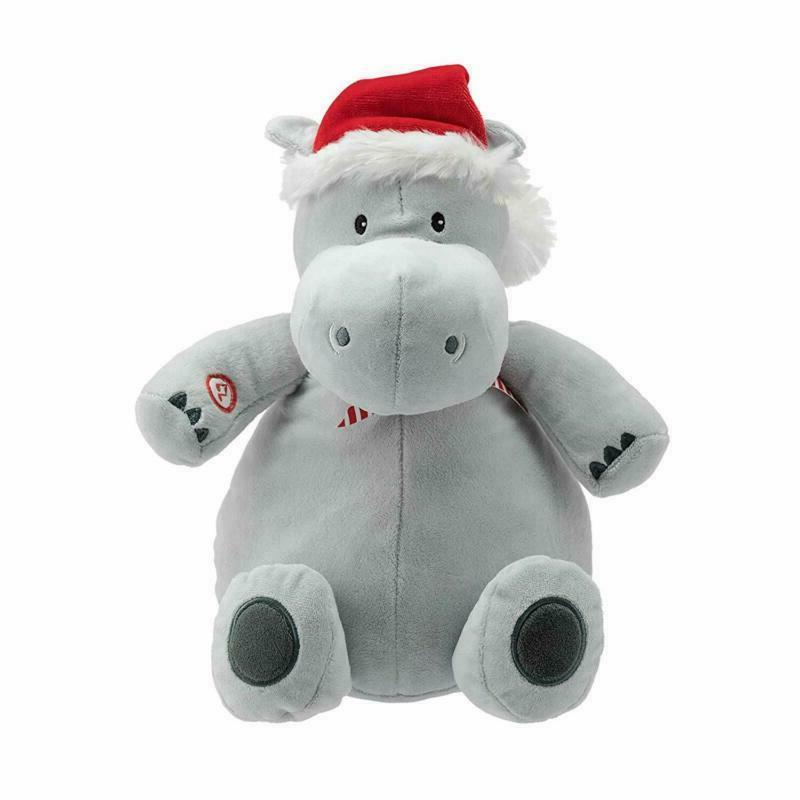 Hallmark Plush Stuffed Hippopotamus With Sound Christmas The