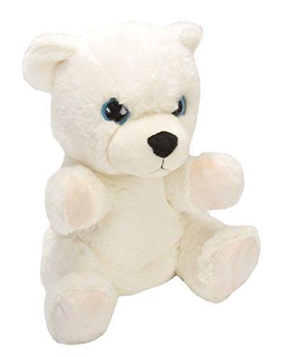 "Wild Republic Cuddlekins 12/"" Polar Bear Baby Plush Animal Stuffed Toy for Kids"