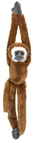 Wild Republic Gibbon Plush, Monkey Stuffed Animal, Plush Toy