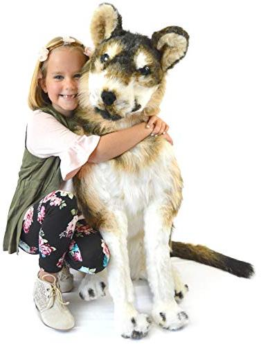 VIAHART The Husky | 3 Foot Big Stuffed | Shipping from | Toys