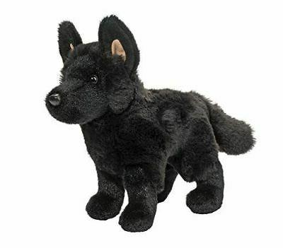 harko black german shepherd plush toy 8