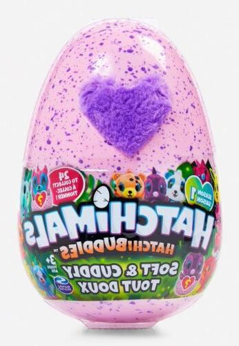 hatchimals hatchibuddies kids toy stuffed animal nib