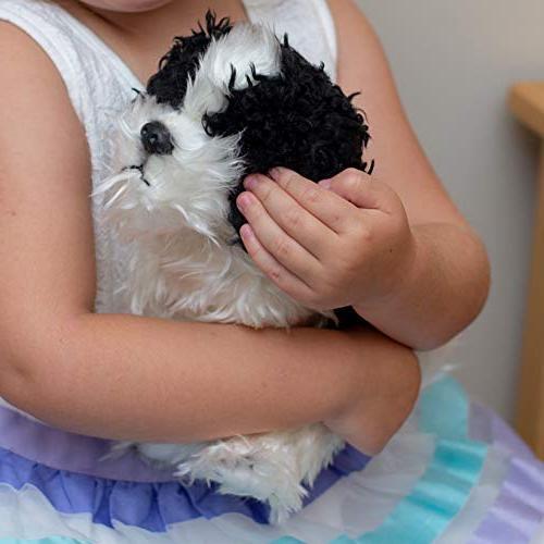 DEMDACO Sitting Dog Children's Plush Stuffed Animal