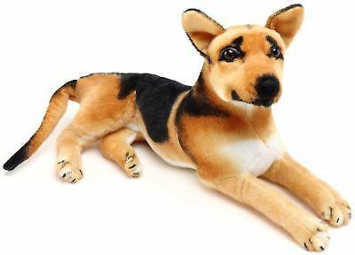 hero german shepherd inch stuffed animal plush dog tiger tal