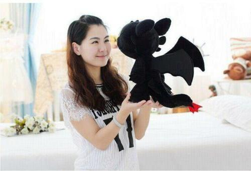 How to Dragon Toothless Night Stuffed Animal Doll