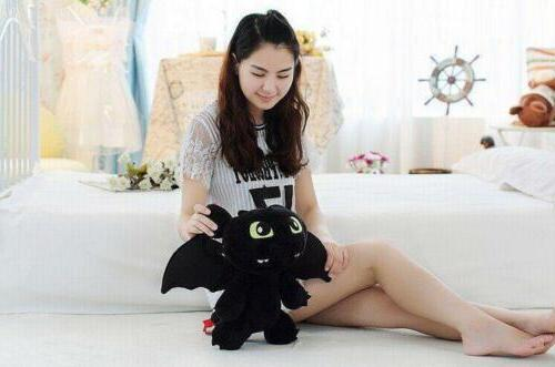 How to Train Dragon Night Stuffed Animal Doll 12''