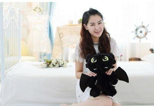 How to Train Your Dragon Toothless Stuffed Doll
