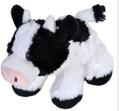 7 Inch Cow Stuffed Animal