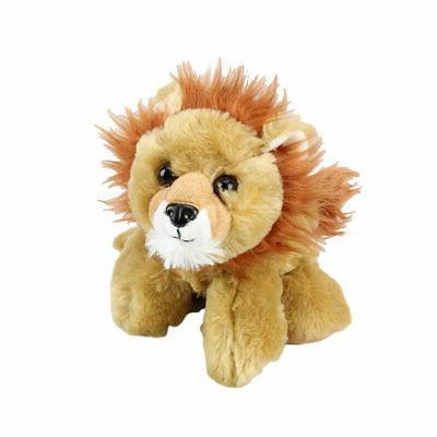 hug ems lion plush toy