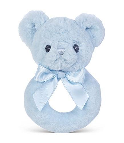 huggie plush stuffed animal blue
