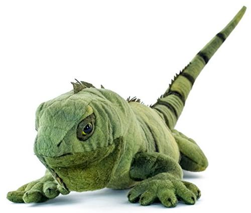 VIAHART Igor The Iguana Long Stuffed Animal Plush | Tale Toys