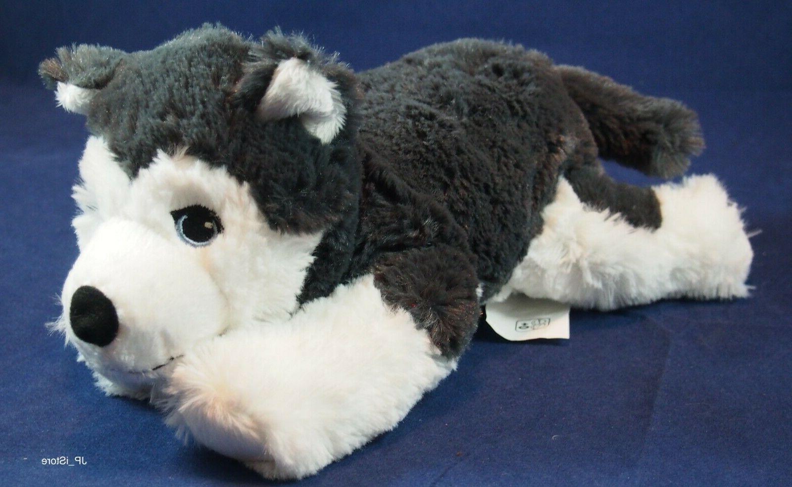 IKEA Husky Stuffed Animal Soft Gray LIVLIG NEW
