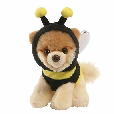 Gund Itty Bitty Boo Bee Costume Stuffed Dog Plush, NEW w/ ta