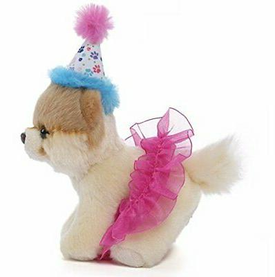 Gund Birthday Stuffed Dog Animal Free