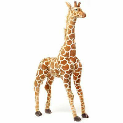 Jani the Savannah Giraffe | 4 1/2 Foot Giant Stuffed Animal