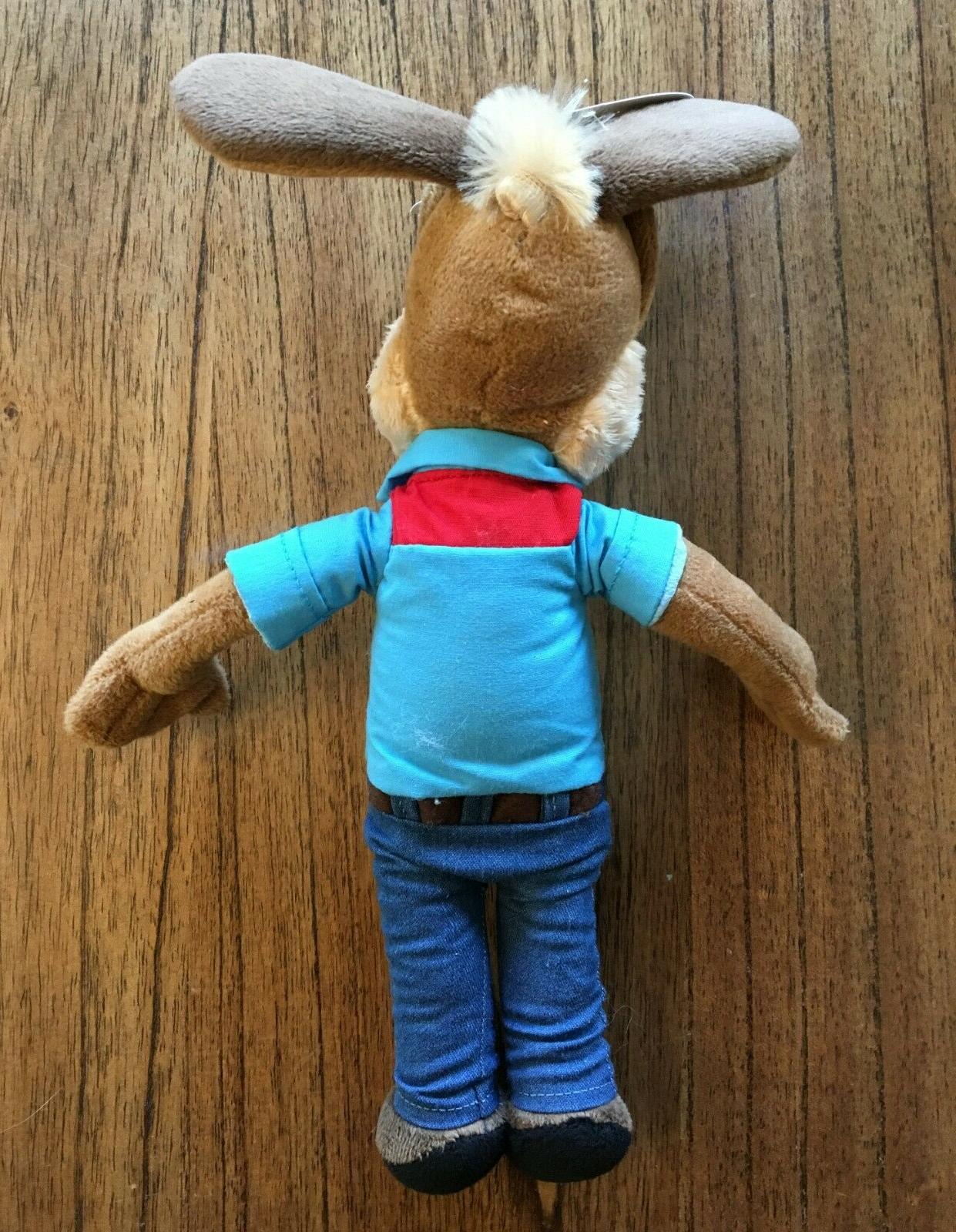 Jasper E Plush Animal Doll New