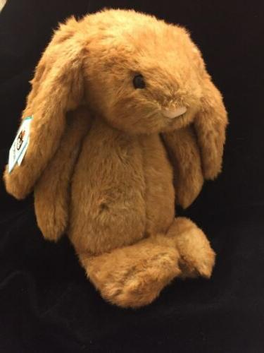 Jellycat Medium Bashful Maple Bunny Plush Soft Toy Stuffed B