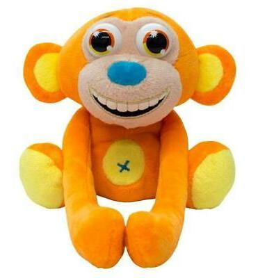 jibber zoo interactive plush toy huggy monkey