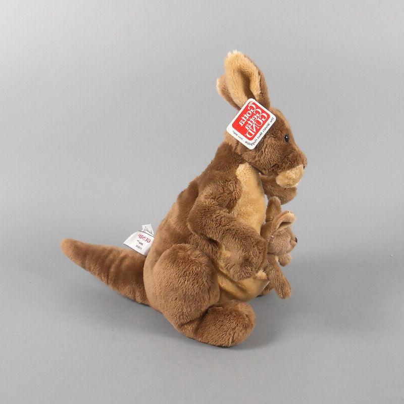 Gund Jirra Brown Plush Kangaroo with