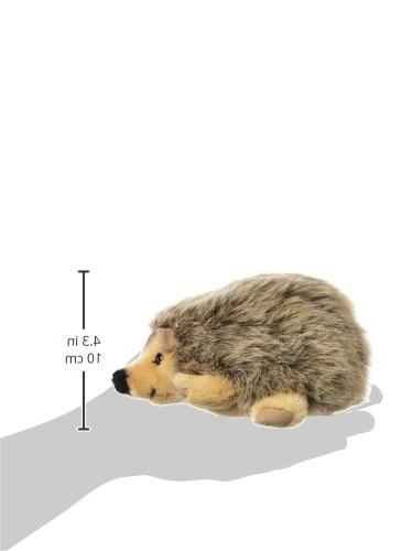 Steiff Hedgehog Stuffed Animal Soft Toy or Gift Ages and Up, Mottled Brown
