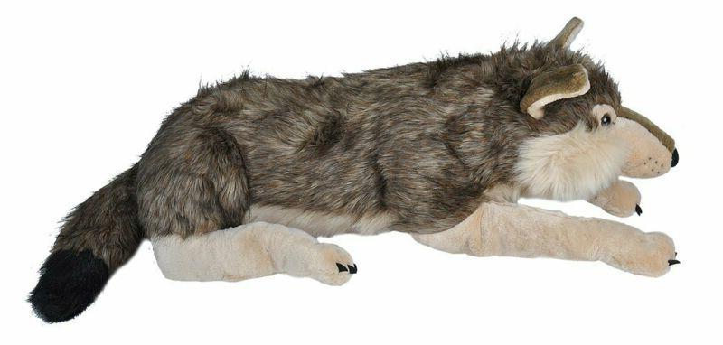 Jumbo Wolf Stuffed Gifts Inches