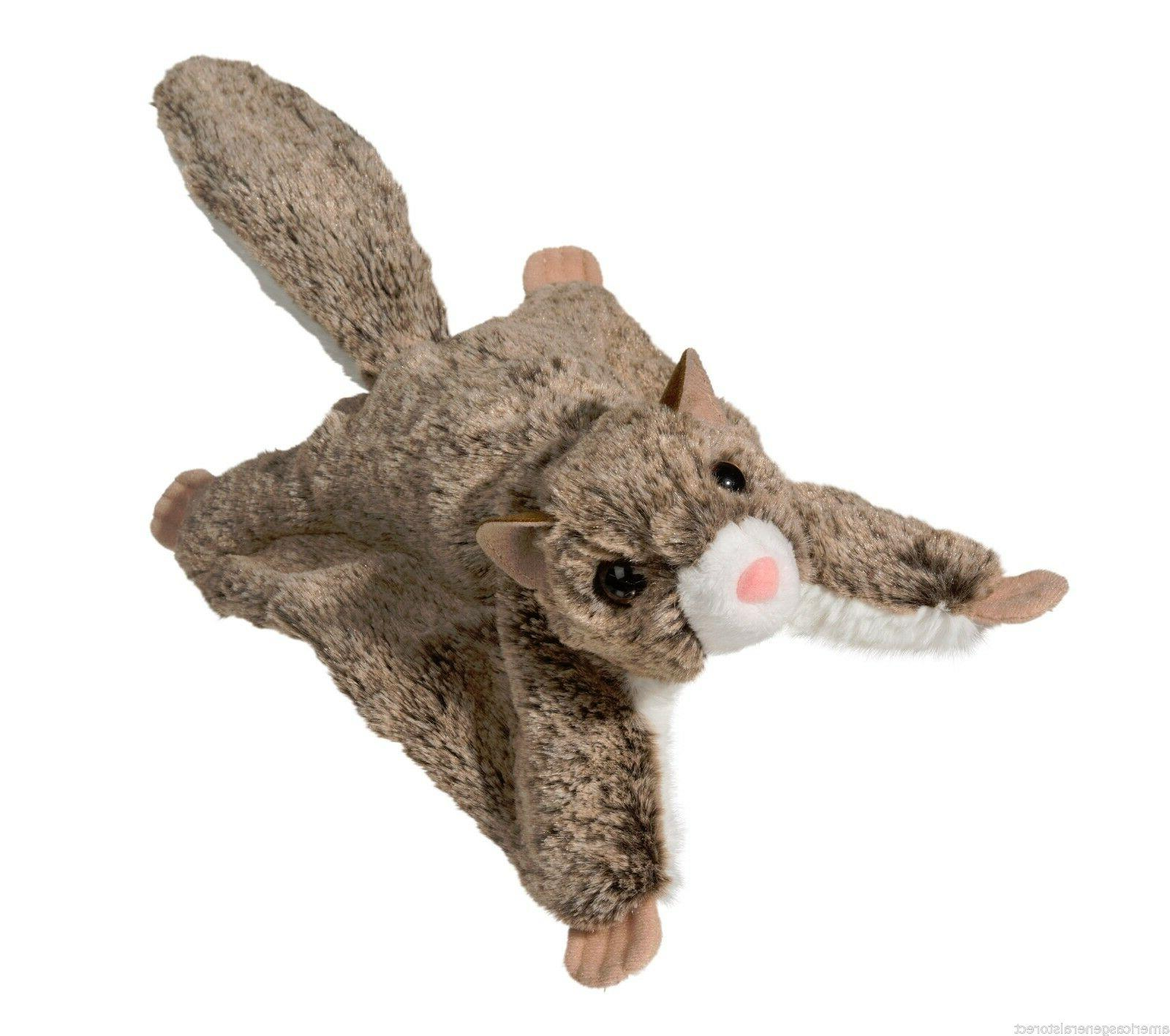 """JUMPER 13"""" Flying Squirrel stuffed animal Douglas Cuddle Toy"""
