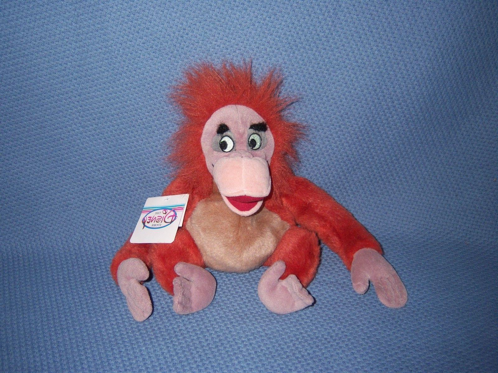 Jungle Book Louie NEW Stuffed Plush Doll Toy Animal Disney F