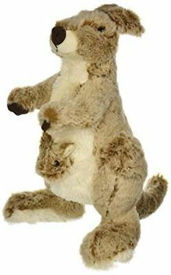 Fiesta Toys Kangaroo with Baby in Pouch Plush Stuffed Animal