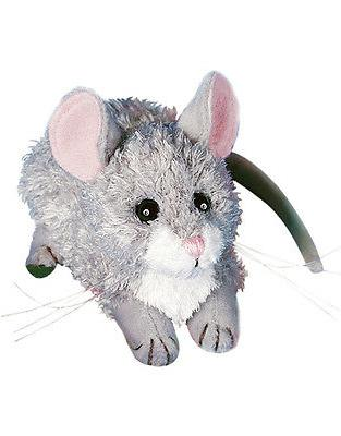 "KERNEL MOUSE stuffed animal Douglas Cuddle plush 6"" gray stu"