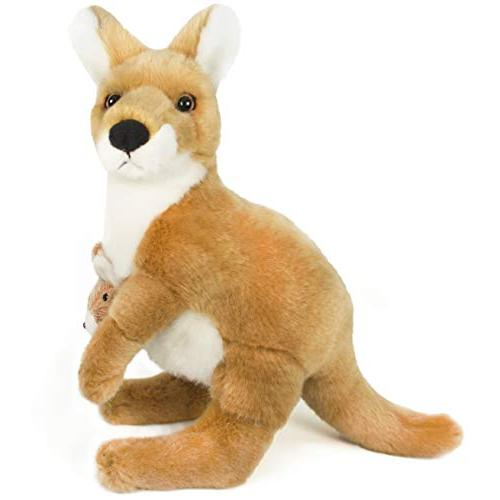 VIAHART Keswick The Kangaroo | 10 Stuffed Animal Tiger Tale