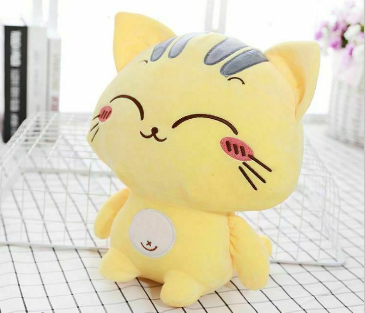 Kids Sweet Soft Stuffed Animal Plush Cartoon Doll Toy Sweet Cat