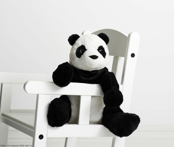 Ikea Bear Animal Soft Kids Baby White