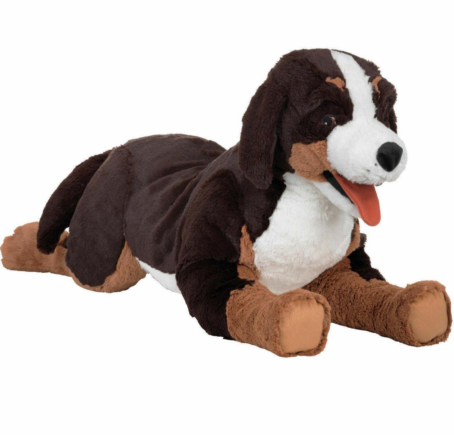 """Large IKEA Mountain Dog Soft Stuffed Animal Toy 24 3/4"""" New"""