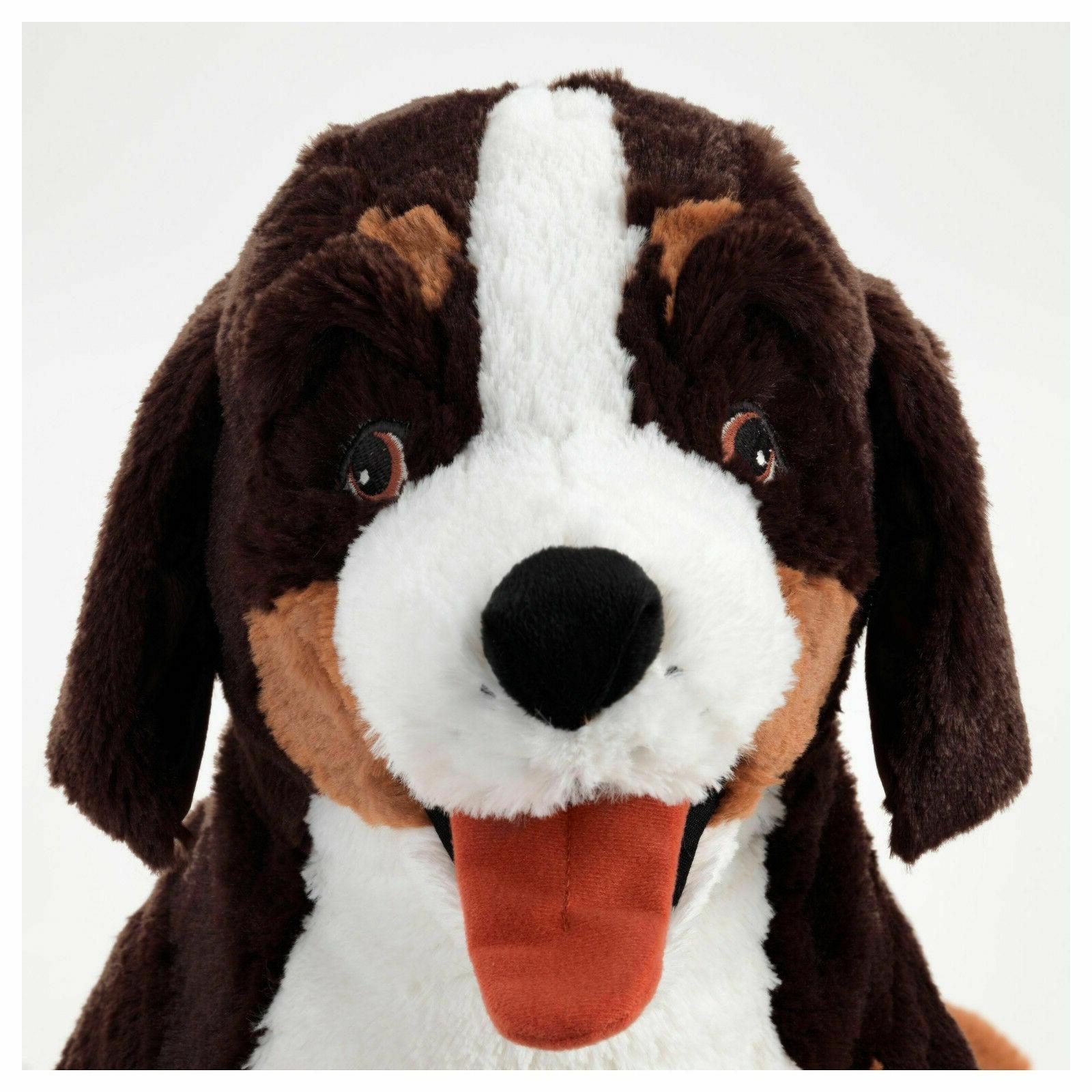 """Large HOPPIG Mountain Dog Soft Animal 3/4"""" New"""