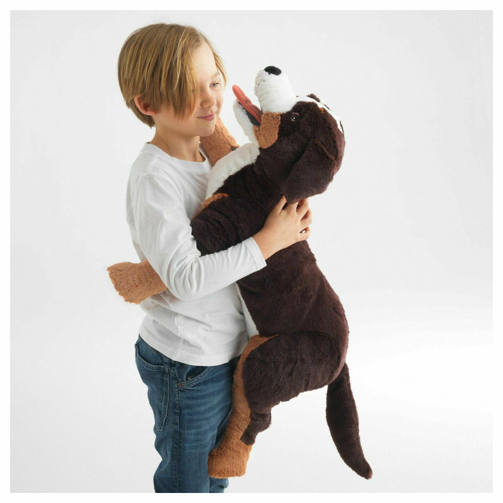 large hoppig bernese mountain dog soft stuffed
